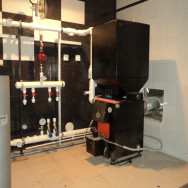 Монтаж котла Куппер и системы отопления