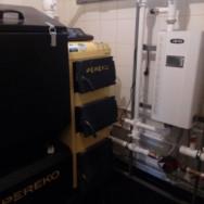 Монтаж котла pereko и системы отопления