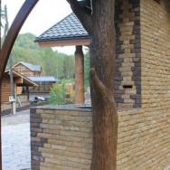 Барбекю комплекс: Мангал, тандыр, печь, отделка природным камнем, лепнина