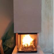 3D Камин с камин. вентиляторами на отопление
