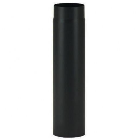 фото трубы 0,5 м эмалированной черной