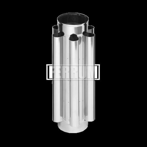 фото дымохода-конвектора d150 нерж