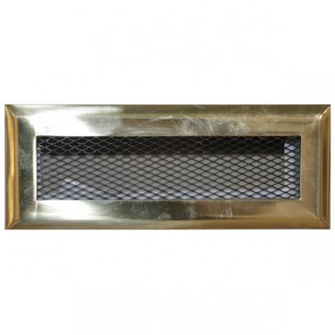 фото решетка каминная DX-18.7 латунь