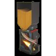фото схемы Отопительный котел Куппер ОК-9 с пеллетной горелкой АПГ25