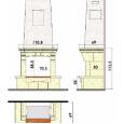 изображение схемы камина SOLO CS40