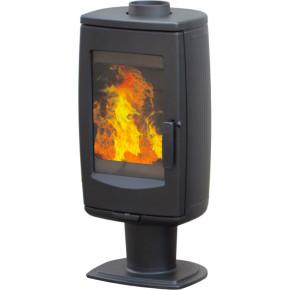 Печь ARIA черная эмалированная (PLAMEN)