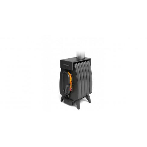 фото печи огонь-батарея 5 лайт черной
