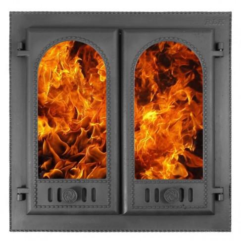 фото дверка каминная ДК-8С
