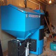 Монтаж котла зота и системы отопления