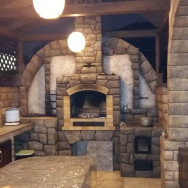 Барбекю комплекс: Мангал, тандыр, печь, - лепнина